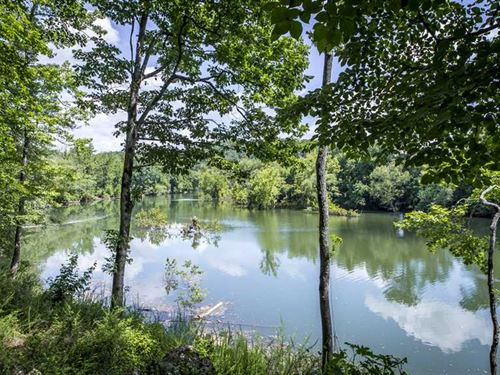 Little Red River Front Paradise : Shirley : Van Buren County : Arkansas