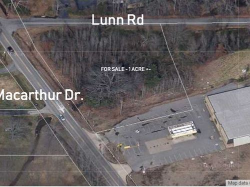Macarthur Drive Nlr, 1.08 Acre : North Little Rock : Pulaski County : Arkansas