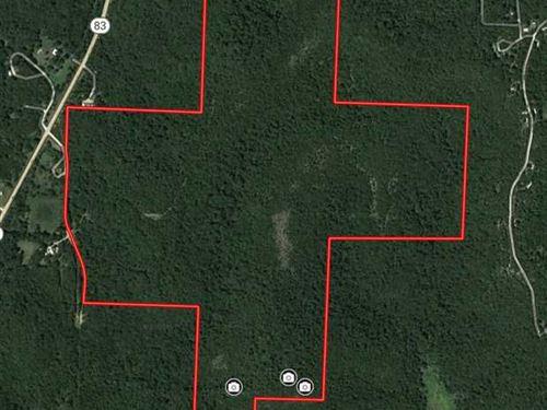 237 Acres That Joins Corp Ground : Warsaw : Benton County : Missouri