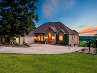 Custom Brick Estate Home Buffalo : Compton : Newton County : Arkansas