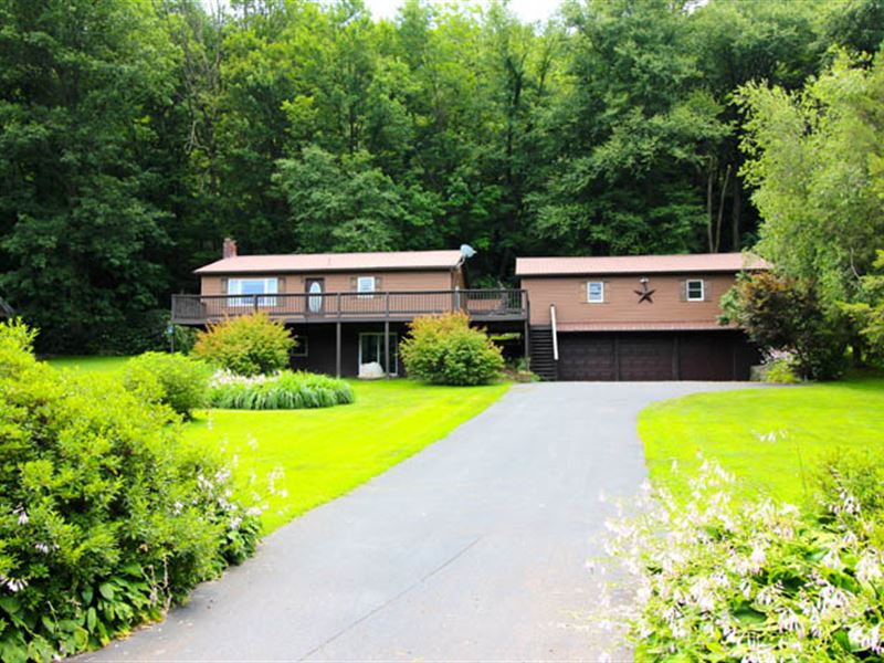 2+ Acres, Ranch Home : Catawissa : Columbia County : Pennsylvania