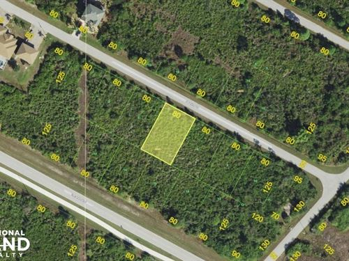 Great South Gulf Cove Lot : Port Charlotte : Charlotte County : Florida