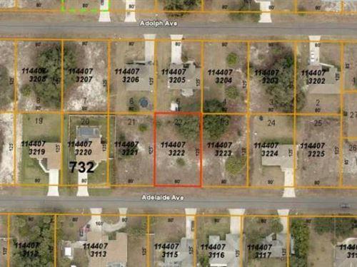 Great North Port Lot : North Port : Sarasota County : Florida