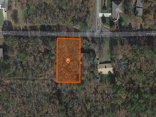 .4 Acre For Sale In Hot Springs Ar : Hot Springs National Park : Hot Spring County : Arkansas
