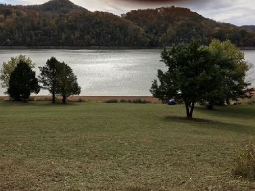 Lakefront Lot, Level To Water : Rogersville : Hawkins County : Tennessee