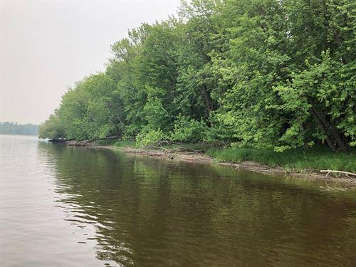 Riverfront Land in Birchdale, MN : Birchdale : Koochiching County : Minnesota