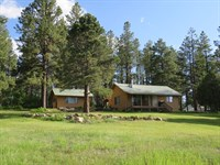 Chama NM Hunting Ranch Cabin : Chama : Rio Arriba County : New Mexico
