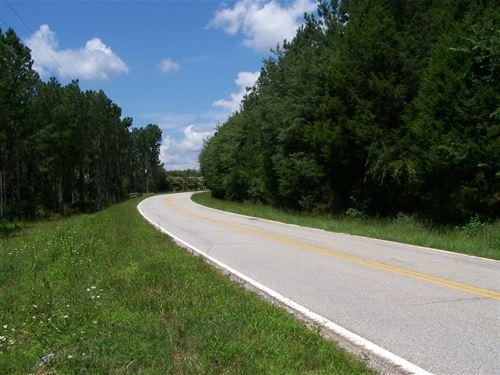 Residential Recreational Acreage : Winnsboro : Fairfield County : South Carolina