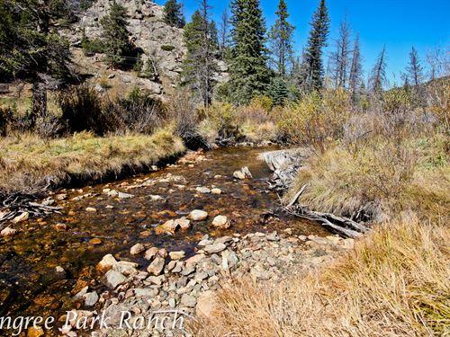 Pingree Park Ranch : Bellvue : Larimer County : Colorado