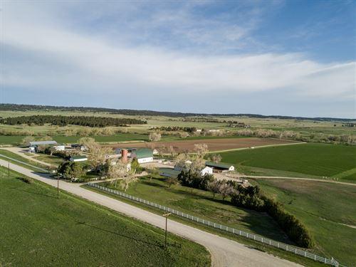 West Bijou Irrigated Ranch : Elbert : Colorado
