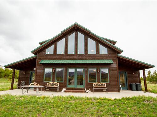 Townsend-Owl Mountain Home : Rand : Jackson County : Colorado