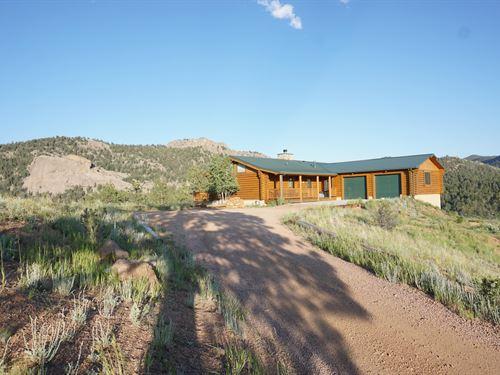 Mountain Top at Dome Rock : Florissant : Teller County : Colorado