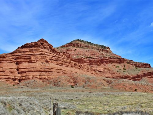 Red Butte Ranchette : Lander : Fremont County : Wyoming