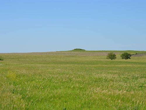Split Rail Morris County Farmland : White City : Morris County : Kansas