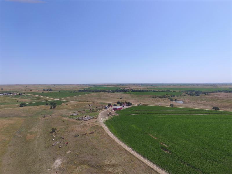 Norton Co, Section & Improvements : Lenora : Norton County : Kansas