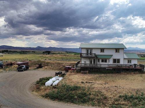 Chiles Ranch : Nucla : Montrose County : Colorado