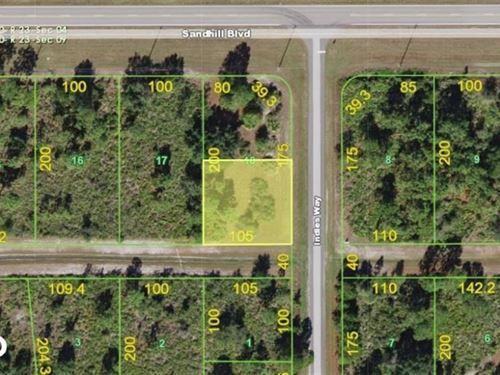 Beautiful Punta Gorda Lot : Punta Gorda : Charlotte County : Florida