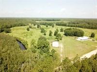 3B/2B Triple Wide 130 Acres : Bonifay : Holmes County : Florida