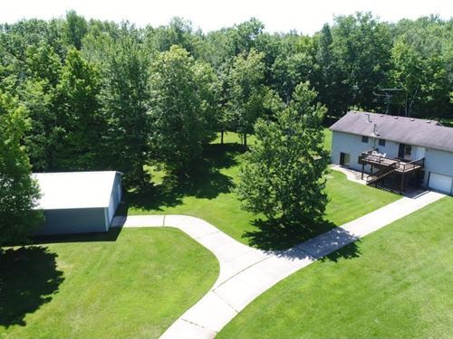 Reduced, Home Acreage Northern MN : Finlayson : Pine County : Minnesota