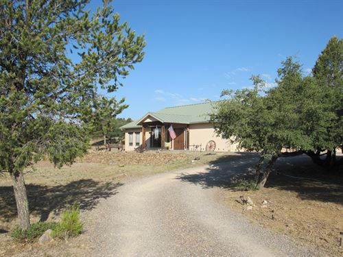 Custom Built, 3 Bedroom 3.5 Bath : Silver City : Grant County : New Mexico
