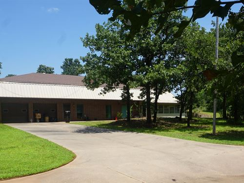Auction Chandler Ok, Home 2.3 Acres : Chandler : Lincoln County : Oklahoma