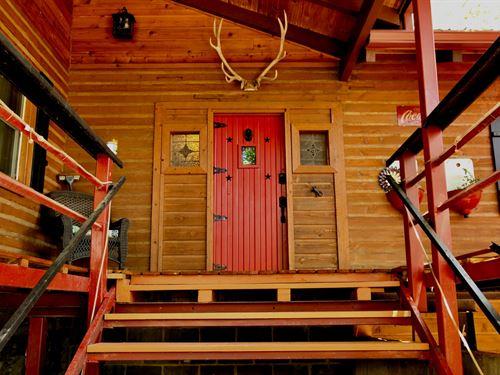 Log Cabin River Access Hunting : Spavinaw : Delaware County : Oklahoma