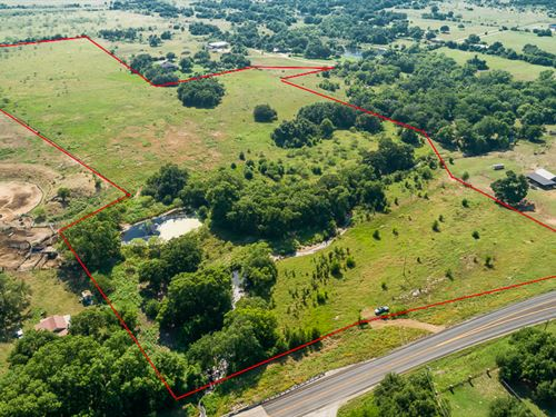 34 Acres Just Outside Of Town : Stephenville : Erath County : Texas