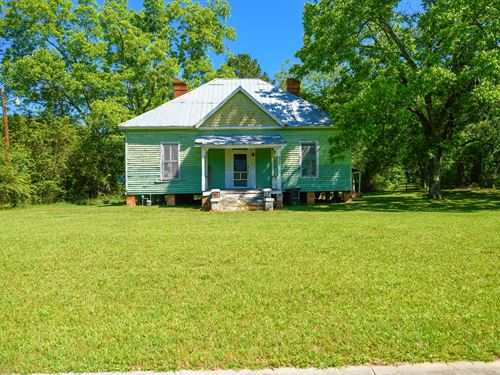 22.5 Acres With Old Homestead : Woodville : Greene County : Georgia