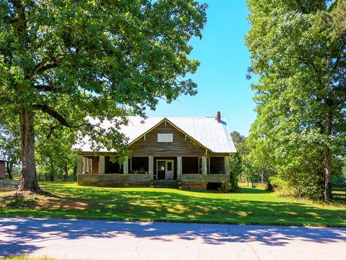 190 Acres, Pond, Pasture & Timber : Woodville : Greene County : Georgia