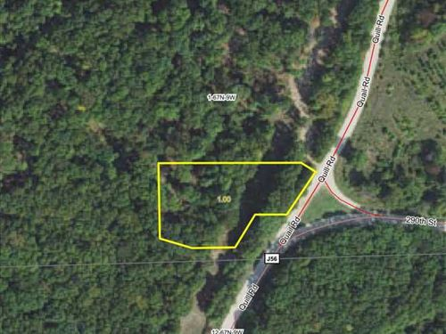 1 Acre Building Lot For Sale in ru : Bonaparte : Van Buren County : Iowa