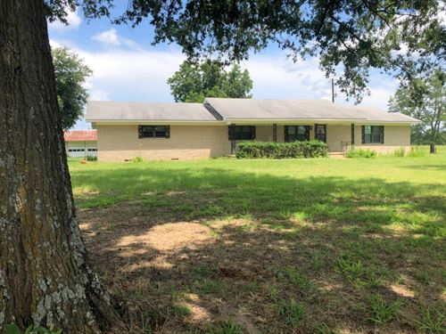 Large Country Home 3 Acres Wood : Winnsboro : Wood County : Texas