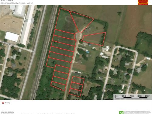 16 Sfr Lot Package : Moody : McLennan County : Texas