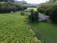 138+Ac Farm, Hm, Barn, Pond, Creeks : Whitleyville : Jackson County : Tennessee