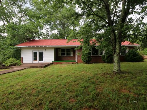 Home On 12 Acres In 2 Tracts : Cookeville : Putnam County : Tennessee