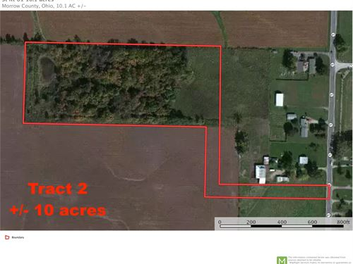 Sr 61 Tract 2, 10 Acres : Mout Gilead : Morrow County : Ohio