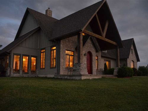Wiles Ranch, 174 Acre Estate With : Rolla : Phelps County : Missouri