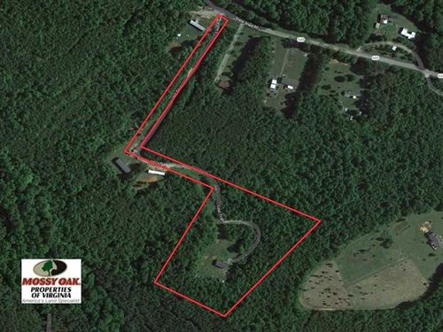 8.33 Acres of Hunting Land For : Nathalie : Halifax County : Virginia