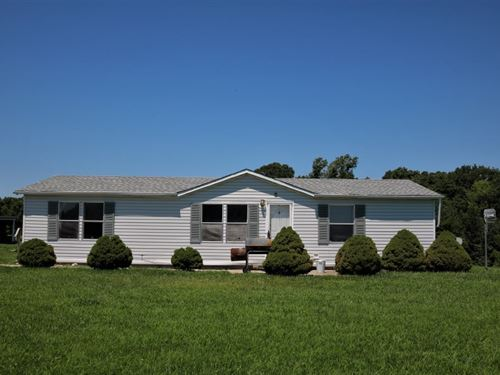 3 Br, 2 BA Country Home Rental : Prairie Home : Cooper County : Missouri