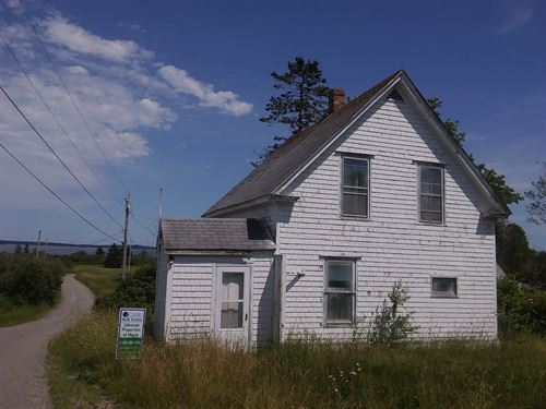 Two Homes For Sale in Lubec Maine : Lubec : Washington County : Maine