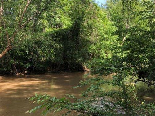 Trimble Bridge At Rivers End : Madison : Morgan County : Georgia