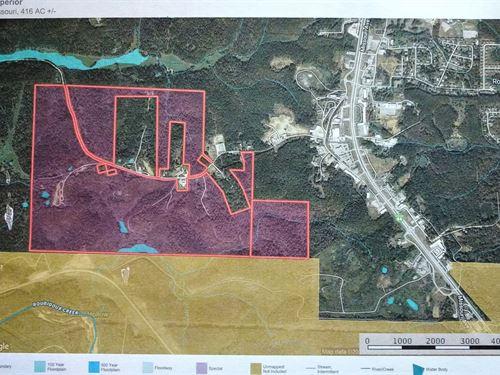 Hunting / Commercial Development : Saint Robert : Pulaski County : Missouri