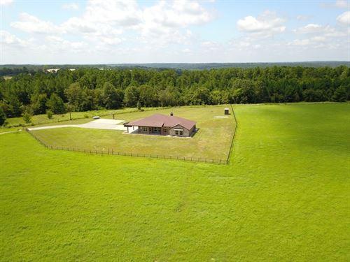 East TX Country Home & Acreage : Frankston : Anderson County : Texas