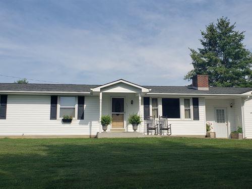 Beautiful Country Home in Pilot VA : Pilot : Floyd County : Virginia