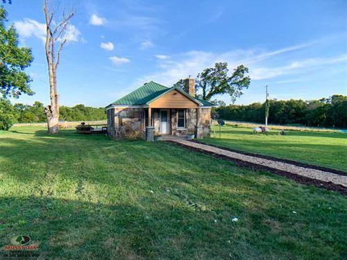 241 Acres With Stone Cabin, Hayabl : Chadwick : Christian County : Missouri