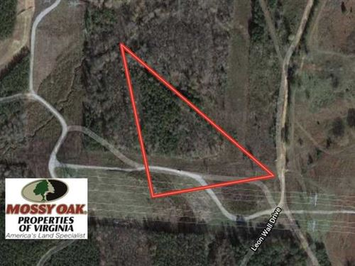 6 Acres of Hunting Land For Sale : Freeman : Brunswick County : Virginia
