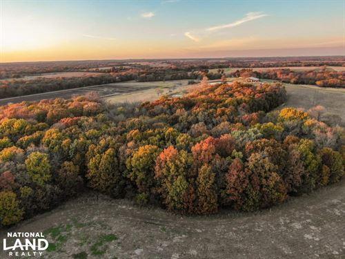 County Line Farm, Hunt, Fish : Fulton : Bourbon County : Kansas