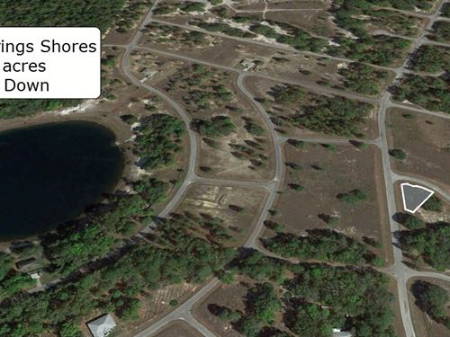 .25 Acre Cleared Corner Lot : Ocklawaha : Marion County : Florida