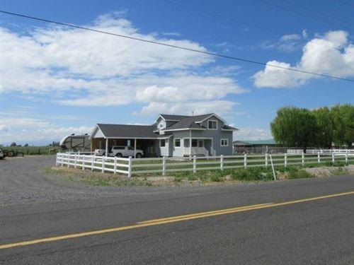 Awesome Horse Ranch : Malin : Klamath County : Oregon