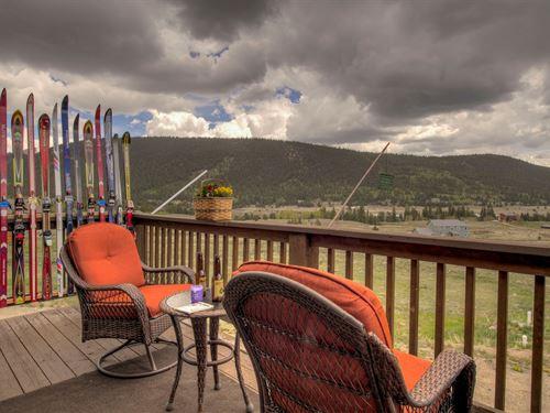 Mountain Home Close to Breckenridge : Fairplay : Park County : Colorado