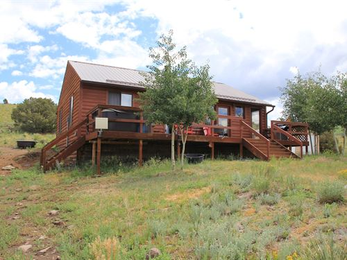 Mtn Cabin Horse Property Hunting : Westcliffe : Custer County : Colorado